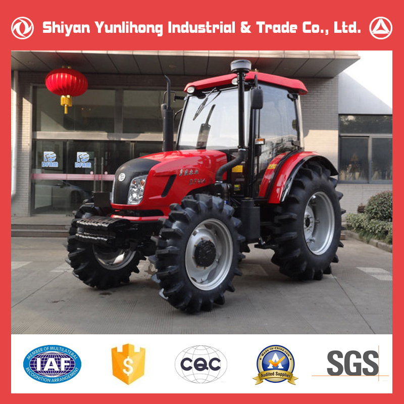 Brand New Dongfeng Farming Tractor Price List/4x4 4WD 90HP Dong Feng Agricultural Tractor For Sale