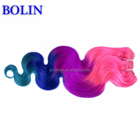Hair Weave Color 530 Color #51 Remi Hair Weave Chemical Free Hair Color
