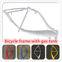 gas tank bike frames for sale/bike frames with blue,black ,white color/ bicycle frames