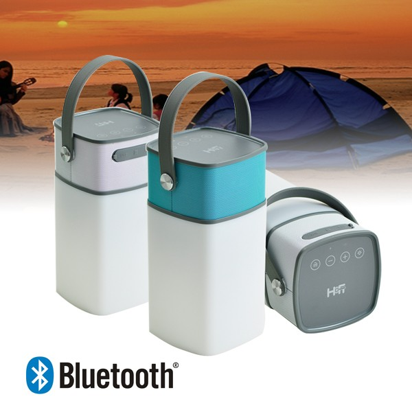 2016 the most popular Portable Wireless Mini waterproof Bluetooth Speaker with night light and power bank