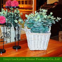 Small Wicker Basket Gift idea for Children Weaving Table Decor Basket for kids Birthday Woven basket Easter decoration