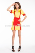 China instyles Broke Girls Movie TV fancy dress costume Halloween Costume walsonrockabilly outlet