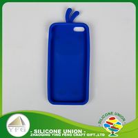Special style silicone cell phone case cover with custom cartoon logo