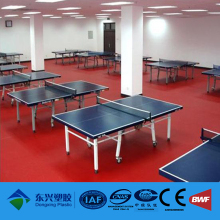 Court surface of table tennis