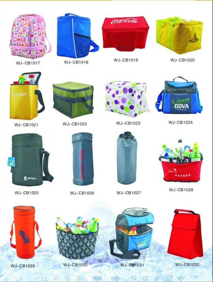 custom outdoor travel fish foldable cooler bag with folding chair