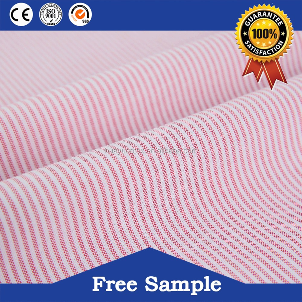 Brand new yard dyed oxford cotton fabric with low price