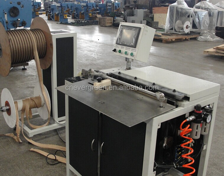 fast speed spiral book wire coiling machine