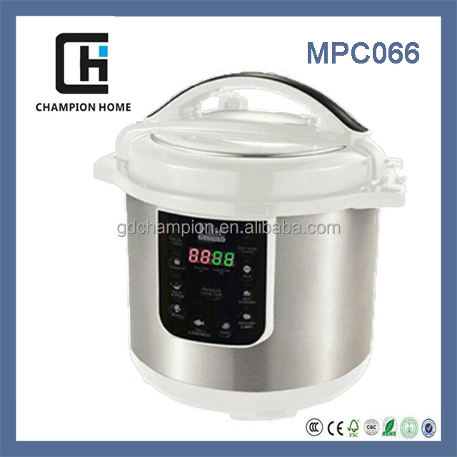 2015 8 function automatic electric pressure cookers Multifunction digital slow cooker