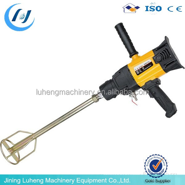 single paddle 230V 240V stucco mixer