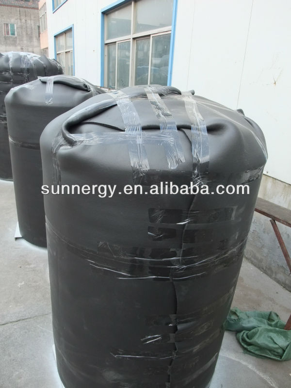 Stainless steel solar freshwater fish farms water tank