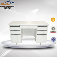 Modern Metal Furniture Second Hand Good Quality Office Executive Desk for Sale