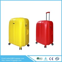 2015 China alibaba eminent luggage cases, ABS/PC/PP travel trolley bag,airline trolley sets with multiwheels hardshell luggage