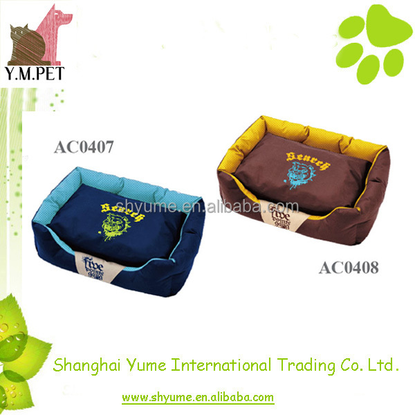 Designer Dog Beds with Removable Cushion
