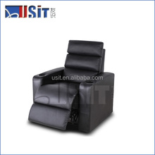 Usit UV-821A fabric/leather reclining vip home theatre seating