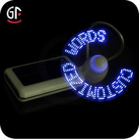 Gift Item Flashing Led Usb Mini Fan