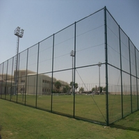 Anping Diamond Galvanized Used Chain link fence Panels For Sale