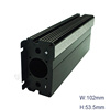 Battery Box Anodized Aluminum Extrusion Extruded