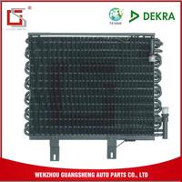 GUANGSHENG 2.2MM Fin Pitch Ac Automobiles Auto Aluminum Condenser For E30 Auto Parts