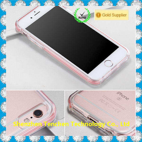For iPhone 7 Case New Trend Products Clear Crystal Rubber Soft TPU Case Covers