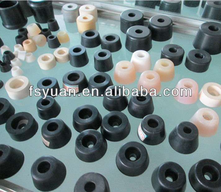 "5/8"" 3/4"" 25/32"" 1"" 1 1/4"" 1 1/2"" inch anti slip shock rubber tips for chairs stop 7/8"" Screw Mount Rubber Feet"
