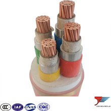 Isolated type Waterproof Anti mouse ant cable rated voltage 0.6/1kV 4 cores nominal section 95 mm2