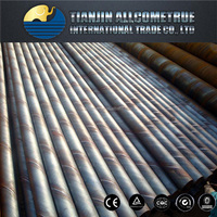 factory high strength spiral welded carbon steel metal pipe