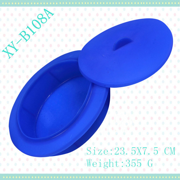 New silicone steamer XY-B108A with cover lid rubber Kitchen Tools