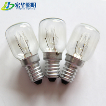 hot sale T25 Tubular 110-220V 15W Lamp Replace Light Incandescent Oven Bulb fridge bulb