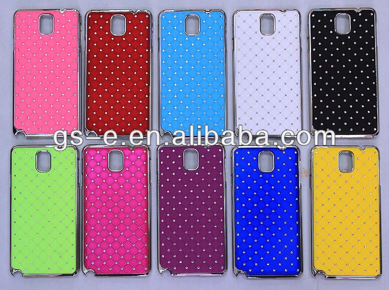 Diamond case for samsung galaxy note 3 / Case for samsung note 3 / Gypsophila case for samsung mobile phone n9000