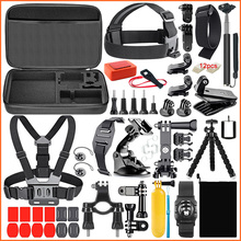 Factory Price &amp; High Quality 50-in-1 Camera Accessories Kit for <strong>gopro</strong> 7/6/5/4/3+, sport camera accessories