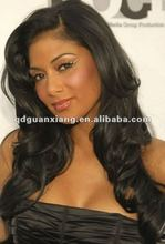 High qualtiy 4-32 inches 100 remy human grey hair full lace wigs
