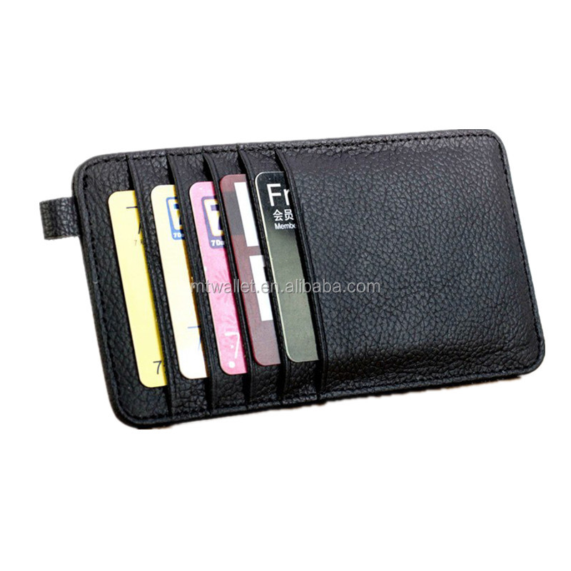Luxury personalize genuine leather gent driving license card holder case for various cards, folded cash, loose change and coins