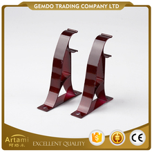 Factory direct top quality custom iron heavy duty curtain brackets