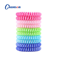 Mosquito Repellent Bracelet double colored Repels Insect band