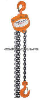 chain pulley hoist/chain block/chain hoist