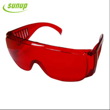 Convenient easy to use laser red goggles, henan sunup professional supplier of dental care products, protect eye