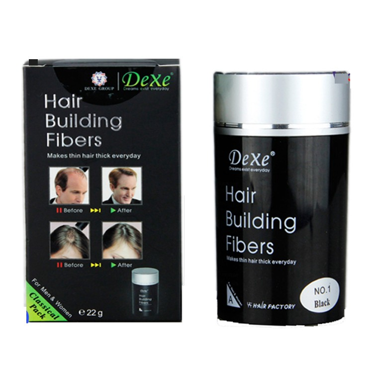Dexe keratin hair building fibres/ hair thickening fibres