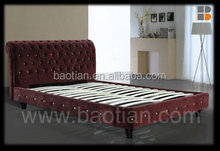 Modern Fabric KD Bed for korea style