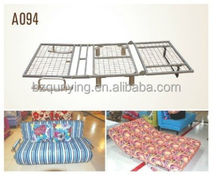 Furniture parts adjustable metal sofa bed frame A094