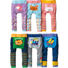2017 newest design cartoon printed cotton baby larger PP pants