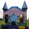 HOLA high quality princess inflatable castle/bouncy castle
