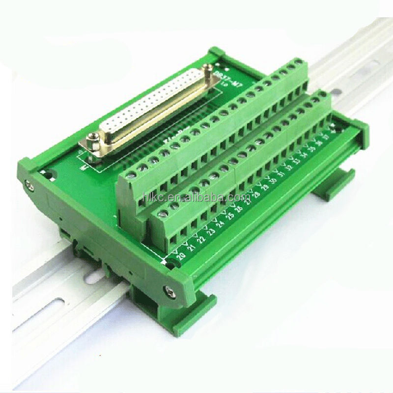 DB25 breakout board D-SUB DIN Rail Mounted Interface Module, Breakout Board, DB25 spliter