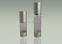 20ml Decorative Frosted Cosmetics Empty Plastic Airless Bottles