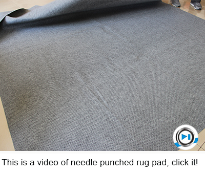 Antislip And Acoustic 2mm Carpet Felt Underlay Rugs