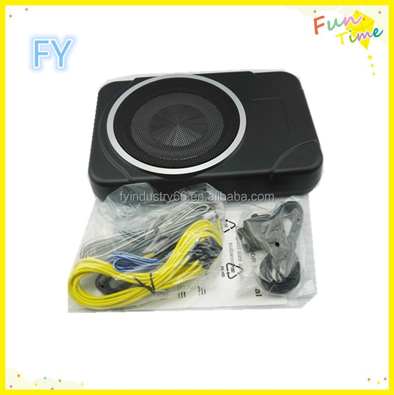 Newest Item 8 inch underseat super slim car subwoofer