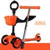 3 in 1 mini scooter with O bar and T bar