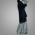 Modern Middle East Arabia Clothes New Stylish Women Lace Dress Islamic Clothing