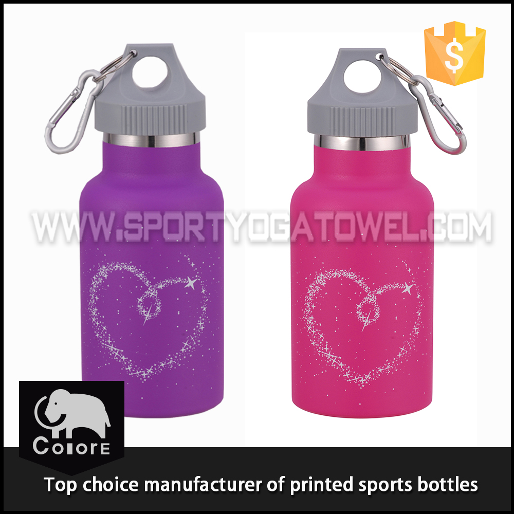 Custom funny printing stainless steel thermos flask for kids