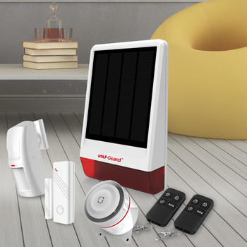 wireless gsm outdoor solar alarm system with app controlling