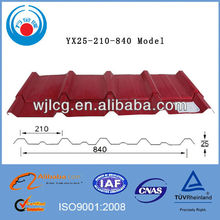 color steel sheet 840 for steel construction/building material
